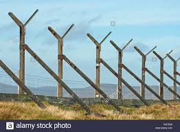 Concrete Fence Posts High Resolution Stock Photography And Images Alamy