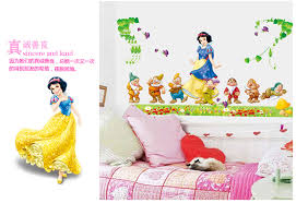 Seven 7 Dwarves Snow White Disney Decal Removable Wall Sticker Home Decor Art