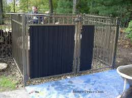 Ornamental Fence Slats Hoover Fence Co