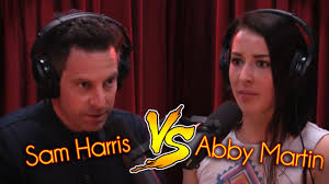 Sam Harris Vs. Abby Martin - YouTube