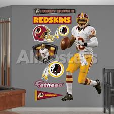 Robert Griffin Iii Rg3 Away Washington Redskins Wall Decal Allposters Com