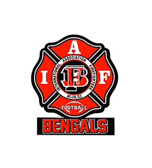 Iaff Cincinnati Bengals Car Decal For Union Firefighters Free Etsy