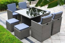 9pc rattan cube set wowcher
