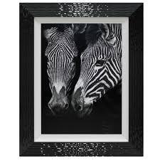 mirror liquid art framed print