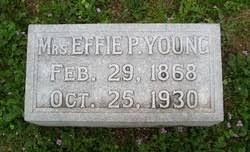 Effie Patterson Young (1868-1930) - Find A Grave Memorial