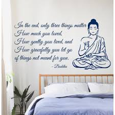 Shop Buddha Quote Sticker Vinyl Wall Art On Sale Overstock 9998007