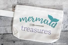 diy mermaid makeup bag create craft love