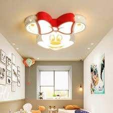 Cartoon Mouse Kids Lighting Fixtures Baby Boy Bedroom Children Room Ceiling Light For Kids Room Ceiling Lamp Kids Lights Ceiling Ceiling Lights Aliexpress