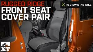 rugged ridge front seat cover