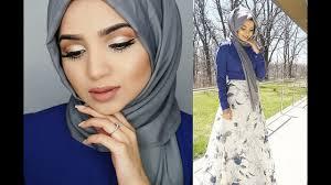 eid makeup tutorial hijab tutorial