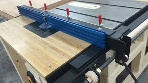 Router Table Fence For Table Saw Youtube
