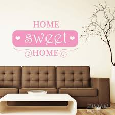 Sweet Home Quote Wall Stickers Decal Living Room Entrance Decorate Ornament Romantice Bedroom Wall Decals Home Sweet Home Home Decor Wall Stickers Home Decoration Stickers From Joystickers 10 76 Dhgate Com