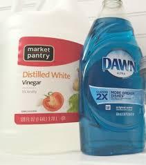 clean makeup brushes white vinegar