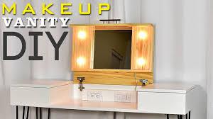 diy makeup vanity desk with storage