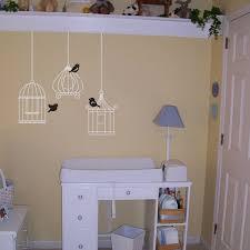 Three Little Birdies Set Of Three Birdcages Birdcage Decals Vinyl Wall Decals