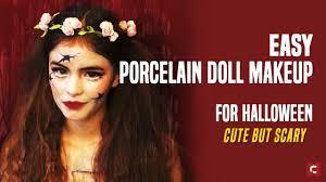 porcelain doll makeup for halloween