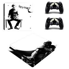 Ps4 Slim Skin Sticker For Sony Playstation 4 Console And Controllers Of Decal Ps4 Slim Sticker Vinyl The Jorker And Batman Consoleskins Co