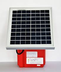 Lis15 Red Trout Solar Energiser Up To 7 Km Of Fence Red Snap R Electric Fencing Systems