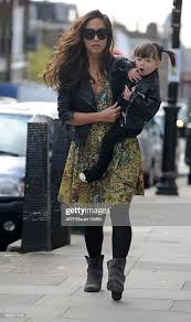 Myleene Klass and her daughter Ava Bailey Quinn are seen on May 02,... News  Photo - Getty Images