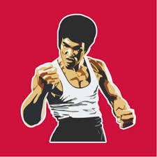Bruce Lee Sticker Decal Laptop Car Any Surface Sports Sports Games Equipment On Carousell