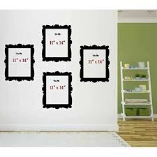 Decal Picture Frames Qty 4 11 X 14 Home Decor Wall Decal Walmart Com Walmart Com
