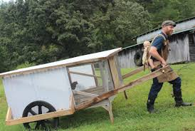 Finally A Mobile Chicken Coop One Person Can Easily Move Abundant Permaculture