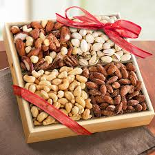 almonds cashew and pista gift pack at