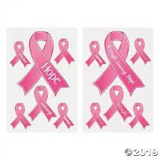 Breast Cancer Awareness Window Clings 2 Sheet S Glowuniverse Com