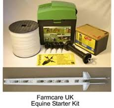 Farm Care Electric Fencing Equine Starter Kit Amazon Co Uk Garden Outdoors