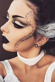 corpse bride makeup shared by