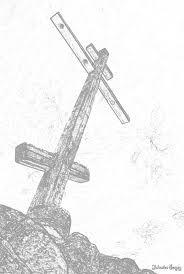 "Картинки по запросу ""крест рисунок карандашом"""