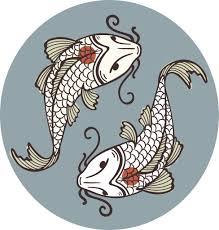 Elegant Gray Teal Japanese Koi Fish Art Icon Vinyl Decal Sticker Shinobi Stickers