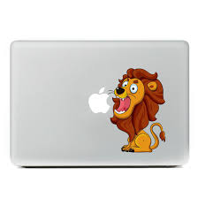 Buy Z055 Cute Cartoon Little Lion Vinyl Decal Laptop Stickers For Apple Macbook Air 11 11 6 Inch Laptop Skin Cover In Cheap Price On Alibaba Com