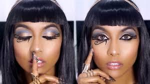cleopatra inspired makeup tutorial