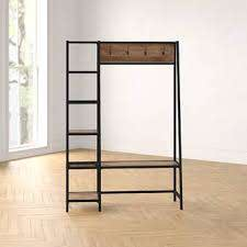 Foundstone Ada Hall Tree and Shoe Storage & Reviews | Wayfair
