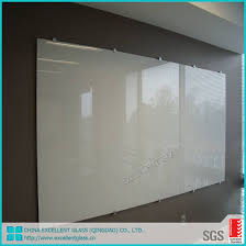 painted tempered glass panel
