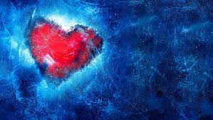red heart frozen love ice icy 5k