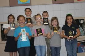 3rd Grade Science Fair Winners - News - West DeFuniak Elementary