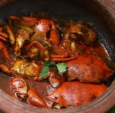 revive ..with the delectable crab curry ...