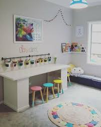 Like How The Storage Is Under The Desk And Not Cubbies On The Outside Kids Playroom Decor Kid Room Decor Kids Playroom