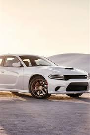 2016 dodge charger srt white car at