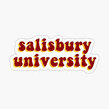Salisbury University Sticker By Paigegandy5 Redbubble