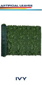 Amazon Com Windscreen4less Artificial Faux Ivy Leaf Decorative Fence Screen 58 X 138 Ivy Leaf Decorative Fence Screen Garden Outdoor