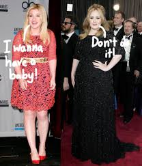 Adele Told Kelly Clarkson To Hold Off On Having A Baby! Find Out Why HERE!!  - Perez Hilton
