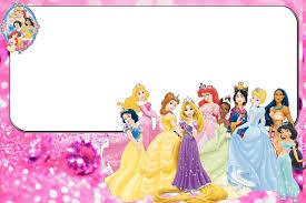 A 1convite10 Jpg 1680 1120 Princesas Disney Invitaciones