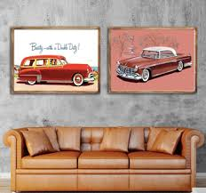 1955 Chocolate Newport Car Funs Beauty Classic Cuture Poster Vintage Retro Canvas Diy Wall Stickers Home Posters Art Bar Decor Wall Sticker Poster Vintageposter Vintage Retro Aliexpress