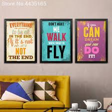 retro hippie poster decorative inspirational life quotes vintage