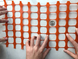 Plastic Mesh For Barrier Fencing Orange Safety Net Hdpe