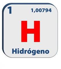 Hidrógeno.