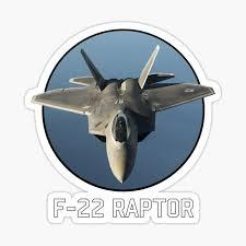 F 22 Raptor Stickers Redbubble